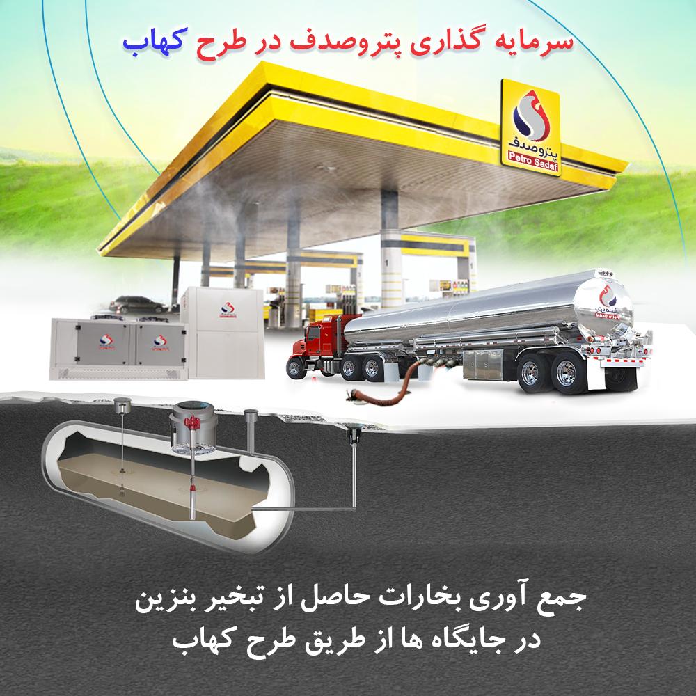 برند پترو صدف اولین مجری طرح کهاب در ایران